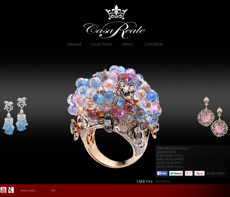 CASA REALE Dazzles Digital World With The Launch Of Multilingual Website