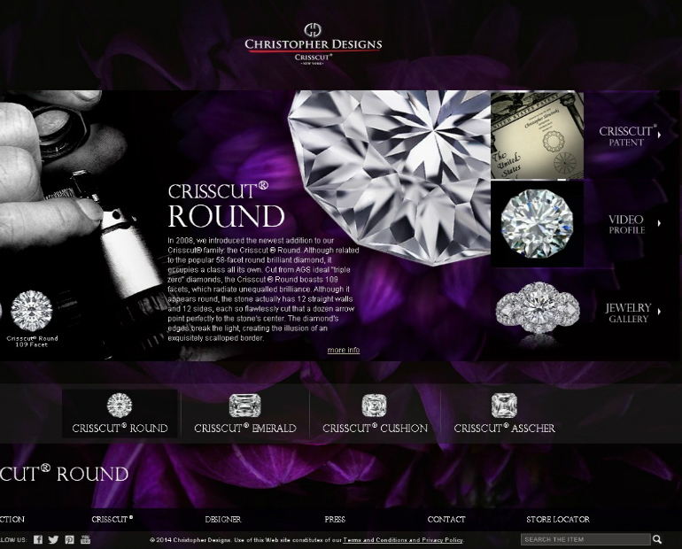 Christopher Design new website developed by ARTYSO